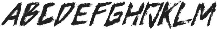 Axwell otf (400) Font UPPERCASE