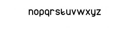 AXTON.otf Font LOWERCASE
