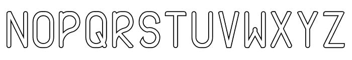 AXTON Stroke Font UPPERCASE