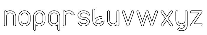 AXTON Stroke Font LOWERCASE