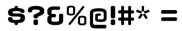 AxaxaxRg-Bold Font OTHER CHARS