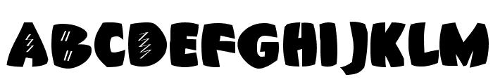 AxeBlack Font UPPERCASE
