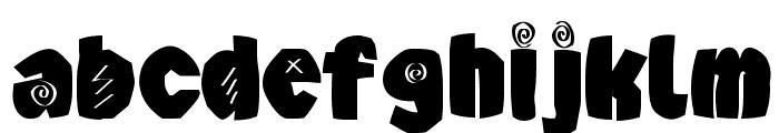 AxeBlack Font LOWERCASE