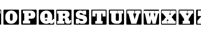 AxelsWoodTypesMK Font LOWERCASE
