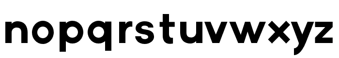 Axis Font LOWERCASE