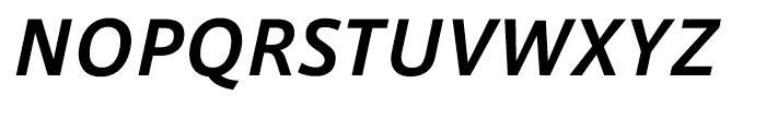 AXIS Font Latin Bold Italic Font UPPERCASE