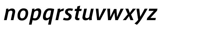 AXIS Font Latin Bold Italic Font LOWERCASE