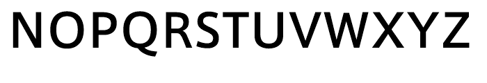 AXIS Font Latin Medium Font UPPERCASE
