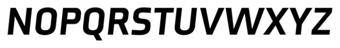 Axia Black Italic Font UPPERCASE