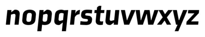 Axia Black Italic Font LOWERCASE