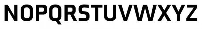 Axia Black Font UPPERCASE