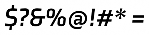 Axia Bold Italic Font OTHER CHARS