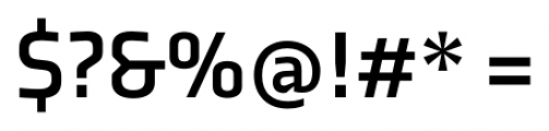 Axia Bold Font OTHER CHARS