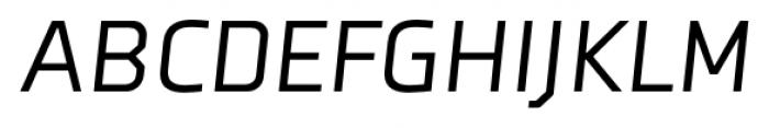 Axia Italic Font UPPERCASE