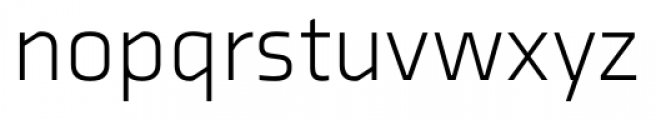 Axia Light Font LOWERCASE