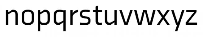Axia Regular Font LOWERCASE