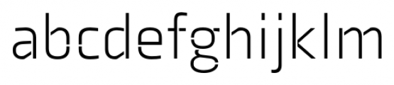 Axia Stencil Light Font LOWERCASE