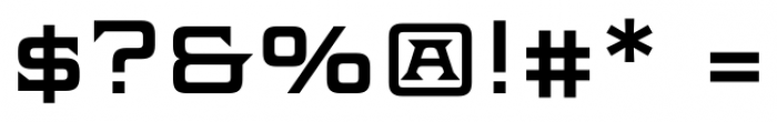 Axion SER ScOsf Regular Font OTHER CHARS