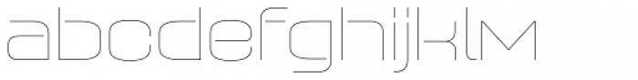 Axaxax UltraLight Font LOWERCASE