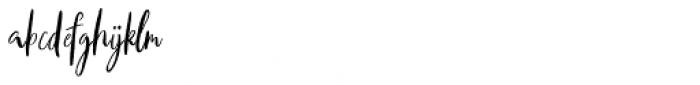 Axelentia Regular Font LOWERCASE
