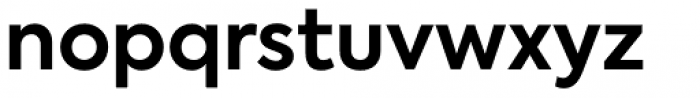 Axiforma Bold Font LOWERCASE