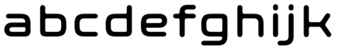 Axion RND Font LOWERCASE