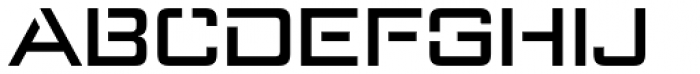 Axion STN Font UPPERCASE