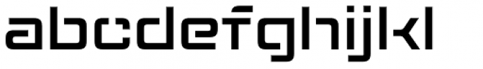 Axion STN Font LOWERCASE