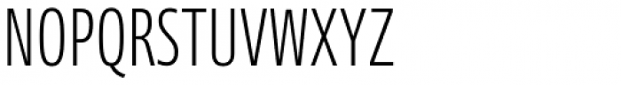 Axis Latin Compressed Pro Light Font UPPERCASE