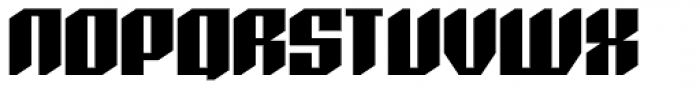 Axteroid Font UPPERCASE