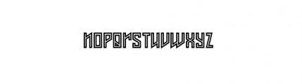 Axis (plain) Font LOWERCASE