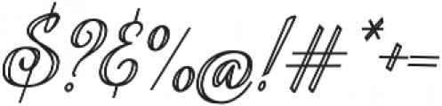 Aysheea otf (400) Font OTHER CHARS