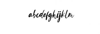 Ayutuban Font LOWERCASE