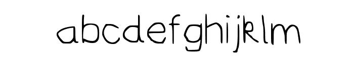 AydieFont Regular Font LOWERCASE