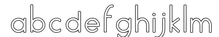 AylavideCS Font LOWERCASE