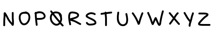 ayanez1 Font UPPERCASE