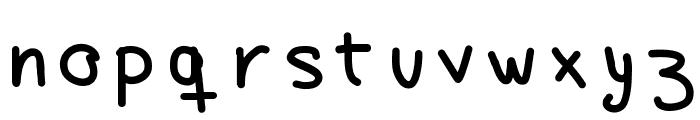 ayanez1 Font LOWERCASE
