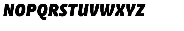 Ayita Pro Fat Italic Font UPPERCASE