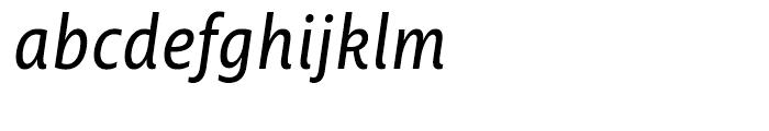 Ayita Pro Italic Font LOWERCASE