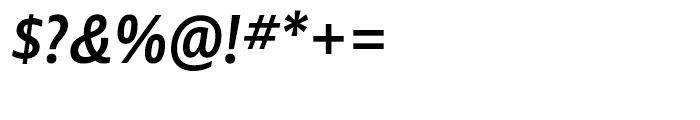 Ayita Pro SemiBold Italic Font OTHER CHARS