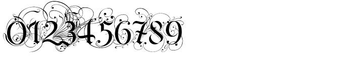 Ayres Royal Regular Font OTHER CHARS