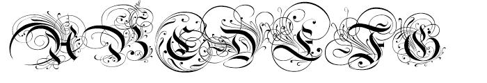Ayres Royal Regular Font UPPERCASE
