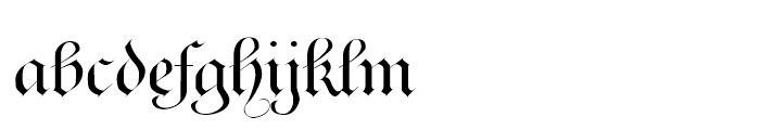 Ayres Royal Regular Font LOWERCASE