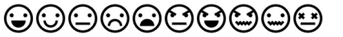 Ayi Dingbats Emoji Font UPPERCASE