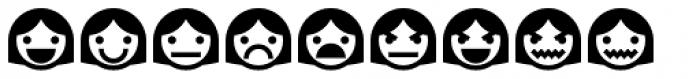 Ayi Dingbats Emoji Font LOWERCASE