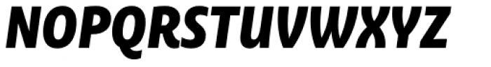 Ayita Pro Black Italic Font UPPERCASE