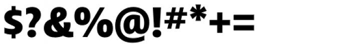 Ayita Pro Black Font OTHER CHARS