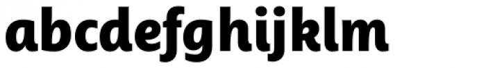 Ayita Pro Black Font LOWERCASE