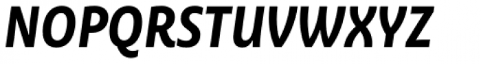Ayita Pro Bold Italic Font UPPERCASE