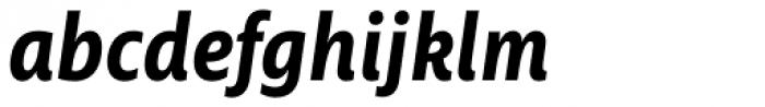 Ayita Pro Bold Italic Font LOWERCASE